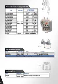 Miniature Thermal Overloads, Miniature Contactor Accessories